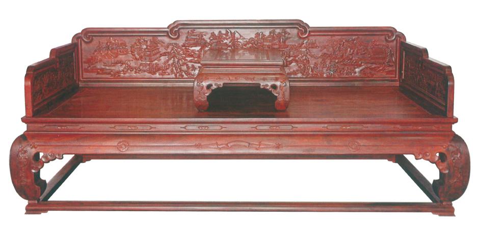 购买和收藏红木家具时,一定要注意辨别电脑工艺和手工工艺